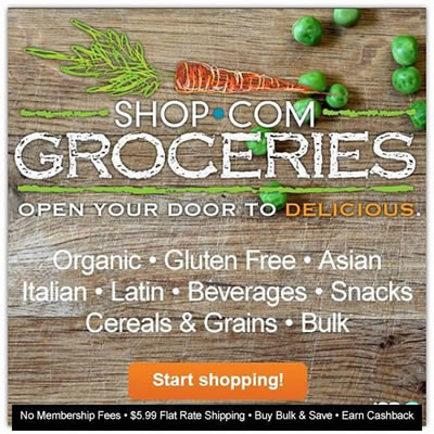 REGISTER for SHOP.COM Groceries!